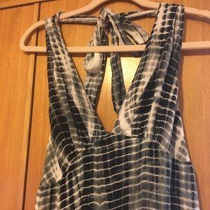 🔥🔥🔥🔥Michael Kors Halter Top Maxi Dress